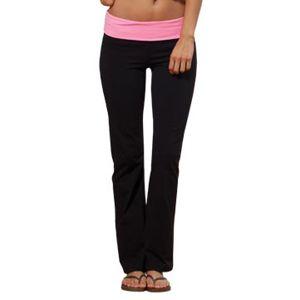 35091869d46a61 Enza EZ165P Ladies Petite Fold Over Yoga Pants
