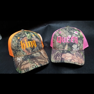 Fast Track Products FTPKQ King or Queen Camo Hat