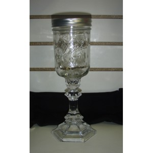 Fast Track Products Redneck Wine Glass