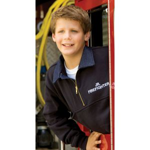 Game Sportswear 810Y Firefighters Youth Workshirt