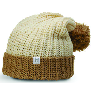 43170e80fbe Richardson 143 Chunk Pom Beanie with Cuff