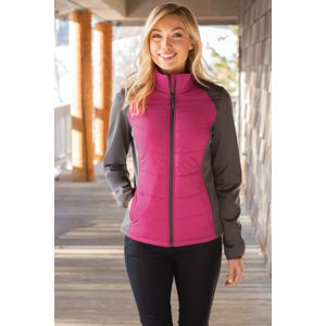 Port Authority® L787 Ladies Hybrid Soft Shell Jacket