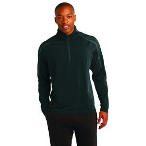 Sport-Tek® Sport-Wick® ST851 Stretch 1/2-Zip Colorblock Pullover