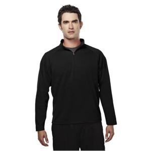 Tri-Mountain 655 Milestone Men's Peached Polyester Pique 1/4 Zip Pullover